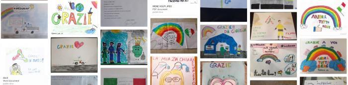 Gli alunni dell'Istituto Comprensivo Ada Negri per la Protezione Civile di Cavenago